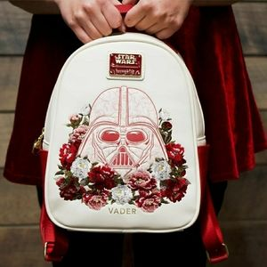 Loungefly vader floral backpack